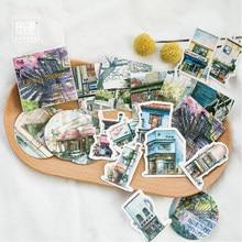 Mohamm-Mini pegatina de papel para decoración, álbum de recortes diario, pegatina de papelería