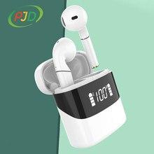 PJD Noise Cancelling TWS Drahtlose Bluetooth 5,0 Kopfhörer PK Freebuds Air 2 Kopfhörer Für Xiaomi HuaWei Drahtlose Ohrhörer mit LED
