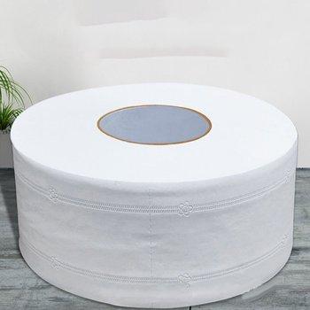 10 rolek partia Fast Shopping papier toaletowy papier 4 warstwy Home Bath papier toaletowy papier podstawowy papier toaletowy z masy celulozowej papier toaletowy GYH tanie i dobre opinie Virgin wood pulp 400g