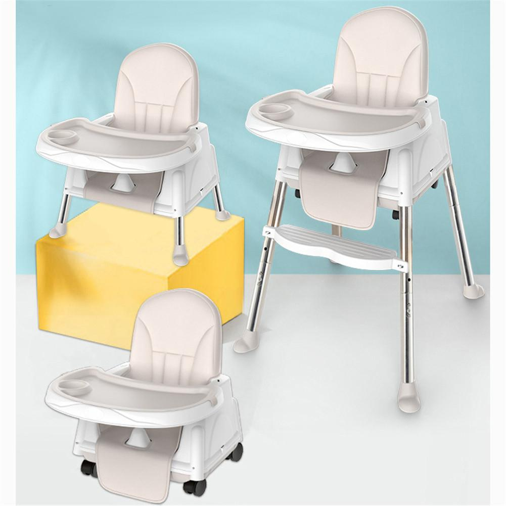 Kidlove 3-in-1 Multi-function Baby Dining Chair Foldable Portable Baby Chair Seat Without Cushion