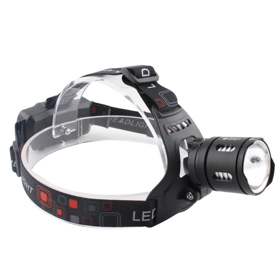 Headlamp 20W XHP 50 LED Bulb Head Lights Outdoor Lighting Headlamps Strop High Flashlight Camping Fishing 18650 Battery Lamp