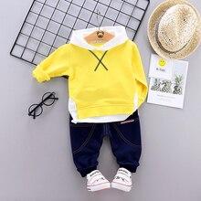 Kids Garment 2019 Spring Autumn Children Boys Girls Clothing Suits Baby Full Sleeve Hoodies Pants 2Pcs/Sets Toddler Tracksuits недорого