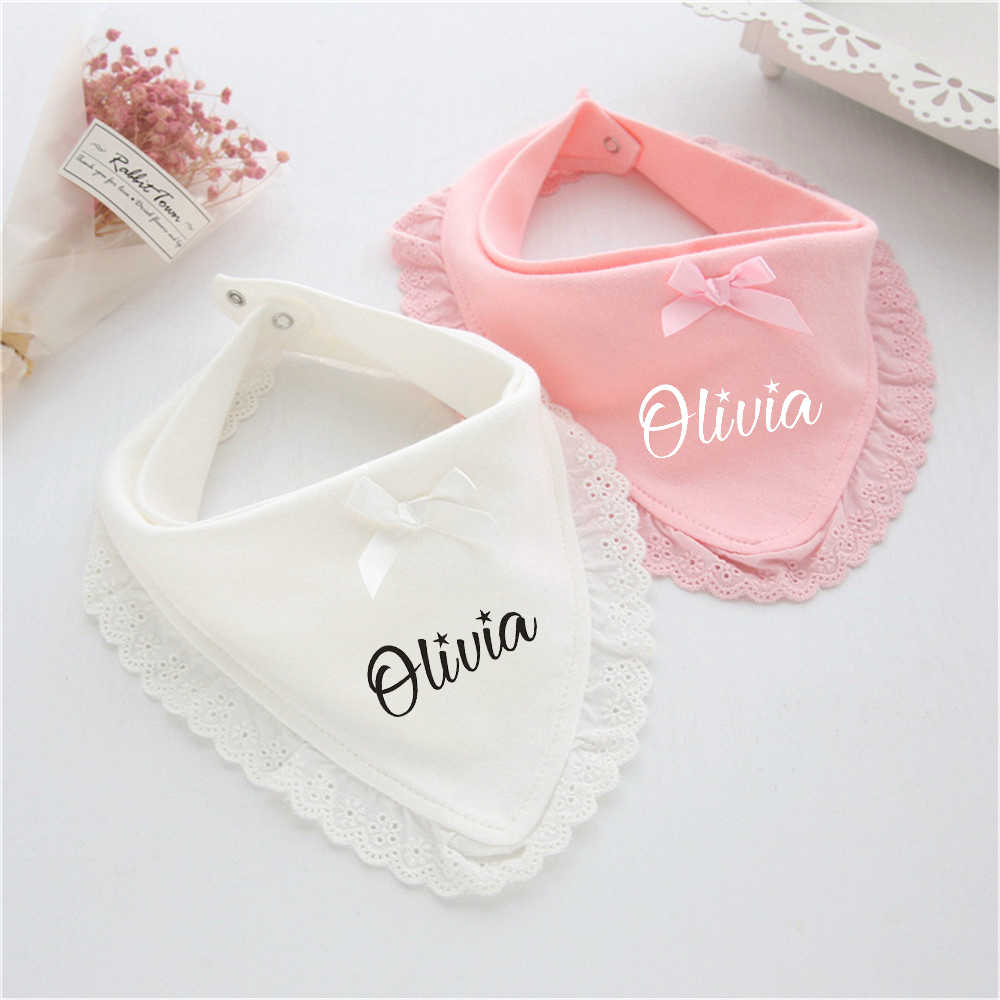Baby boy girl Cotton bibs Little princess personalized bib Custom baby gift Personalized baby Gift Baby shower gift, New baby gift