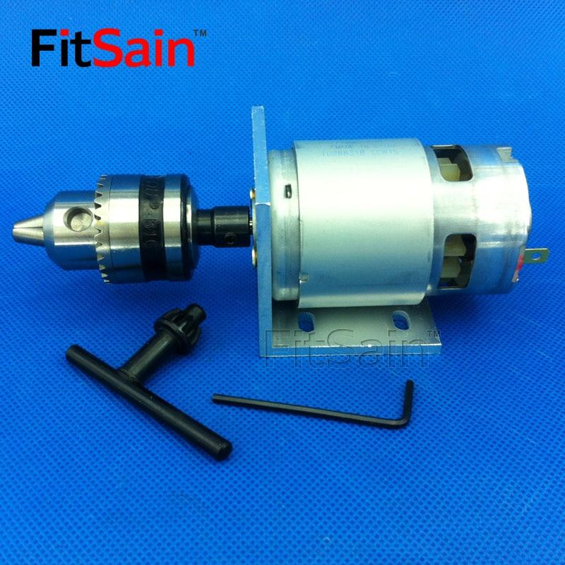 Mini uchwyt wiertarski FitSain-B12 1,5-10 mm do wału silnika 5/6 / - Akcesoria do elektronarzędzi - Zdjęcie 4