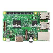 UK RS Raspberry Pi 3B +3pcs Aluminum Heat sink+ ABS Case Box+5V2.5A power charger plug uk rs version raspberry pi 3 heat sink case box power charger plug 1 5m hdmi 16g sd for raspberry pi 3 b free shipping