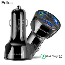 USB Car Charger Quick Charge 3.0 Car Phone Chargers For iPhone 11 XR 8 Samsung A530 QC3.0 Fast Charging Mobile Phone Car-Charger mobile phone chargers deppa 410204 quick fast accessories telecommunications usb for car