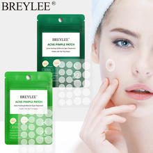 BREYLEE Tea Tree Acne Pimple Patch Invisible Stickers Treatment Face Cream  Repair pimple Smoothing skin Car