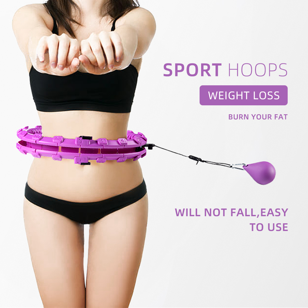 Slimming Products Health Care Sport Hoop Weighted Lose Fat Burning Smart Upgrade Intelligent Adjustable Thin Waist Exercise Gym