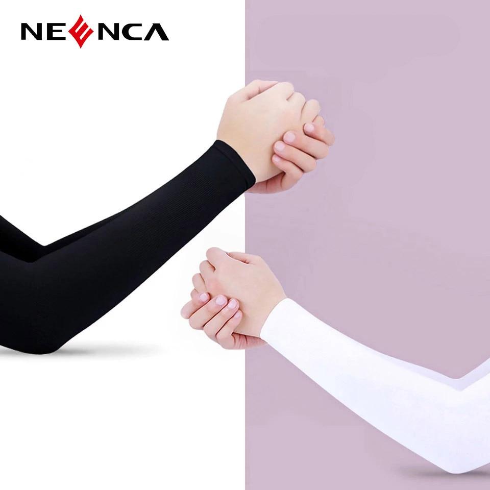 NEENCA унисекс защита рук рукава теплые Для женщин мужчин спортивная одежда с длинным рукавом с защитой от УФ лучей ручная крышка поддержка пр...