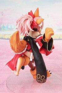 Image 4 - 18Cm Anime Fate/Grand Order Nhân Vật Hành Động FGO Tamamo Không Mae Mèo Miếng Lót Ver Mô Hình Nhựa PVC Trang Trí gợi Cảm Trẻ Em Phổ Biến Sưu Tập Búp Bê