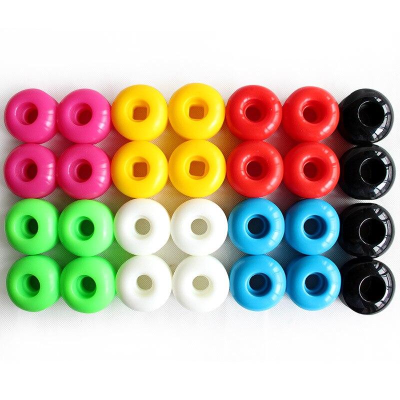 Skateboard Wheels 52x30mm High Hardness Action Wheel Double Rocker Wheel Brush Street PU Wear-resistant Material  Long Board