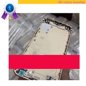 Image 3 - Pour iphone 6G 4.7 pouces, couverture arrière vide de bonne qualité, ou avec le boîtier complet daccessoires, y compris la caméra arrière, la batterie, la cloche, etc.