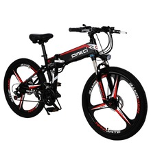 Ebike Bicycle Mountain-Bike Fold Lithium-Battery Electric 21-Speed 300W 48V 10AH Auxiliary