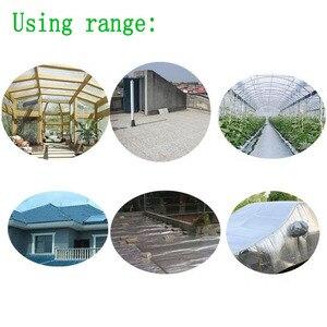 Image 5 - Selbst adhesive Aluminium Folie Blase Wärmedämmung Film Doppel Gesicht Isolierung Material für Dach und Sonne Zimmer 3sqm/lot
