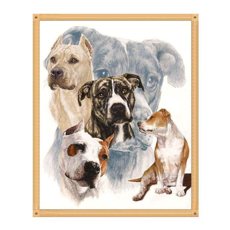 Lovely Dogs Full Drill 5D Diamond Painting Embroidery Home Art Cross Stitch Kits