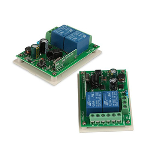 Image 4 - Rubrum 433Mhz AC 250V 110V 220V 2CH RF Relay Receiver Module Universal Wireless Remote Control Switch For 433 Mhz Remote Control