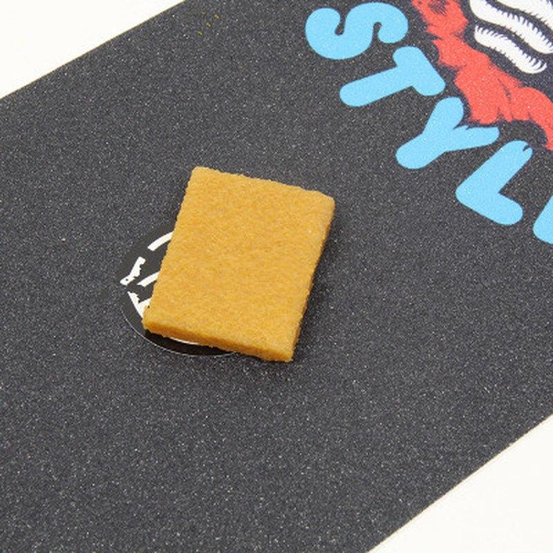 High Quality Skateboard Eraser Grip Tape Gum Double Rocker Longboard Sandpaper Cleaner Skate Board Clean Accessories