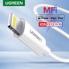 Ugreen Charger Kabel Usb untuk iPhone 11 X XS Max 2.4A Cepat Pengisian Data Usb Charger Kabel untuk Apple Iphone se 8 7 6 USB Charge Kabel(China)