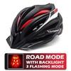 BlackRed LED Helmet