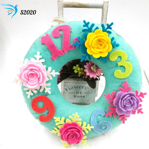 Round 3D wall hanging muyu cutting die new wooden mould cutting dies for scrapbooking S2020(China)