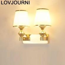 Modern Lamp Candeeiro De Parede Lampara Bathroom Sconce Deco Maison Wandlamp Luminaire Bedroom Aplique Luz Pared Wall Light