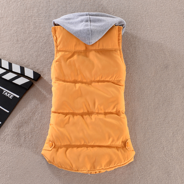 Woman Winter Warm Down Vests 1