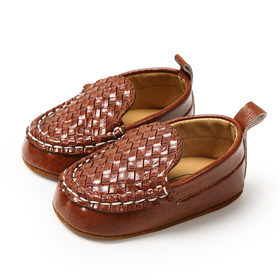 Baby Boys Moccasin Shoes PU Newborn Baby Boy Girl Shoes First Walkers  Prewalkers For Kids Leather Infant Shallow Crib Shoes