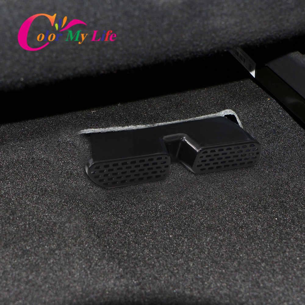 עבור הונדה HRV HR-V Vezel 2014-2018 FIT ג 'אז GK5 תחת רצפת מושב אחורי A/C דוד אוויר מזגן צינור Vent כיסוי סורג