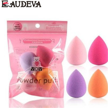 4Pcs Women Makeup Sponge Puff Makeup Tool Beauty Egg Face Foundation Powder Cream Sponges Cosmetic Puff Powder Puff Beauty