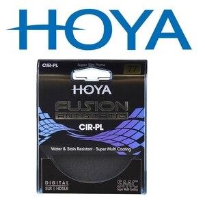 Image 2 - Hoya היתוך בתמיסה CPL Slim מסנן 82mm 77mm 72mm 67mm 62mm 58mm 55m 52mm 49mm קיטוב/מקטב CIR PL עבור מצלמה עדשה