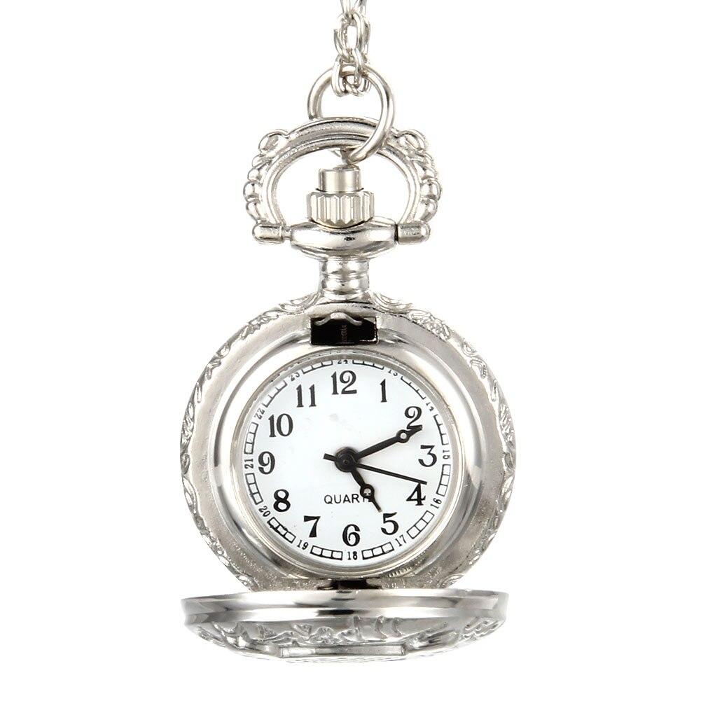Fashion Men Women Vintage Quartz Pocket Watch Unisex Sweater Chain Watches Necklace Owl Pendant Clock Gifts UND Sale