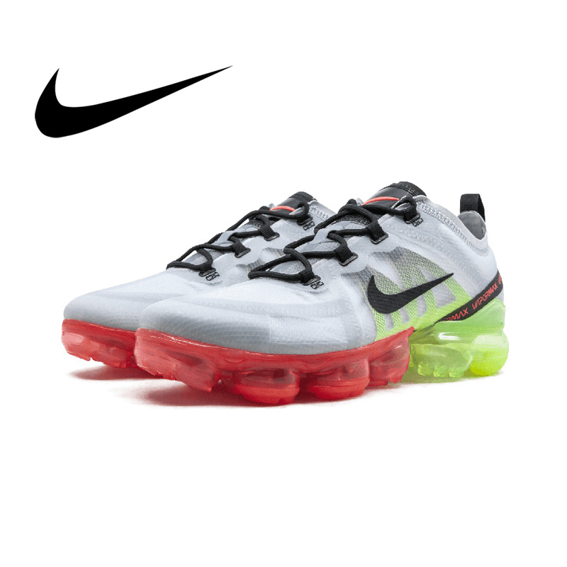 Original Authentic Nike Air VaporMax Men's Running Shoes Breathable Outdoor Sports Shoes Comfortable Shock Absorber AR6631-001