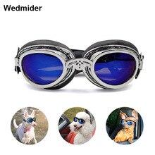 Pet Waterproof Glasses Dog Fashion Adjustable UV Sunglasses goggles photo props pet jewelry for large medium dogs