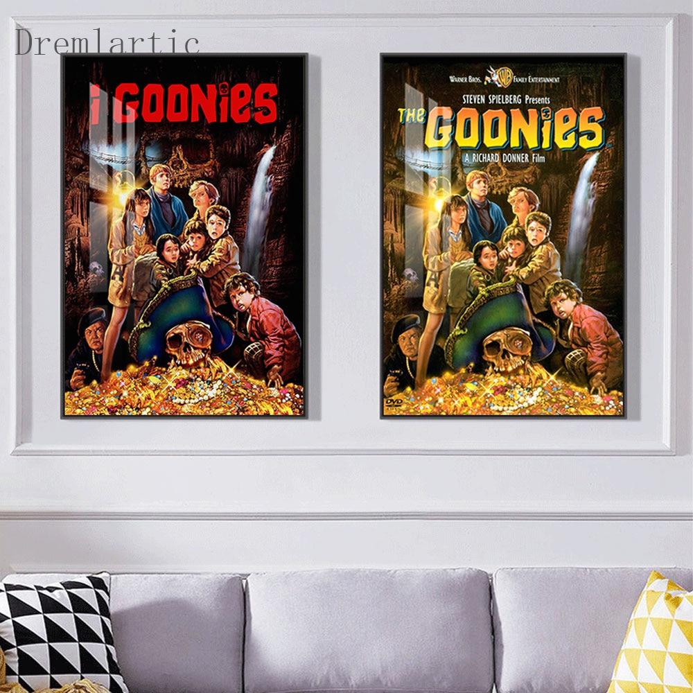 Goonies Poster Art Home Decor Canvas Printing Silk Fabric Print Wall Poster No Frame@20-1005-30