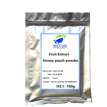 Honey Peach extract powder festival body glitter protein supplement sequins for face reduce weight slimming health vitamins gems