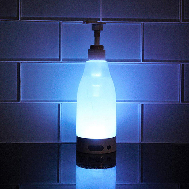 Automatic Sensor Soap Dispenser Motion Activate Touchless Sanitizer Dispenser Smart Sensor LED Guide Nightlight 2