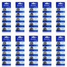 Lot de 50 piles boutons cr 2032, 3V, pour montre, télécommande, calculatrice, cr2032, 5004LC, ECR2032, DL2032