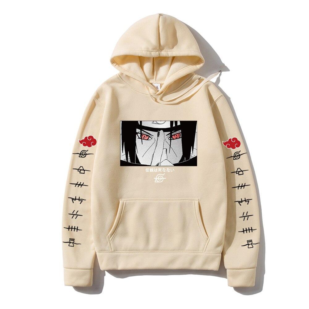 Hot Fashion Hoodies Japanese Anime Streetwear itachi pullover Sweatshirt Men Casual Autumn Winter Hip Hop Hoodie pullover 4