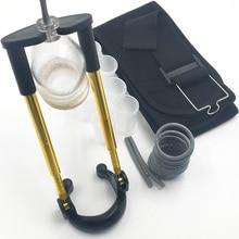 Belt Penis Stretcher Pure Physical Penile Exerciser Pro extender Vacuum Pump hard Penis