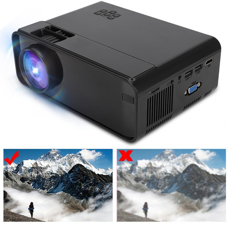 W13 Multimedia home theater 3D HD 1080P LED Projector Mini Projector HDMI TV home cinema home theatre 720p Standard Version
