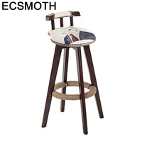 Comptoir Sedia Hokery Taburete Sandalyesi Para Barra Stoelen Industriel De cuero Silla Cadeira Tabouret De Moderne Silla De Bar Sillas de bar     -