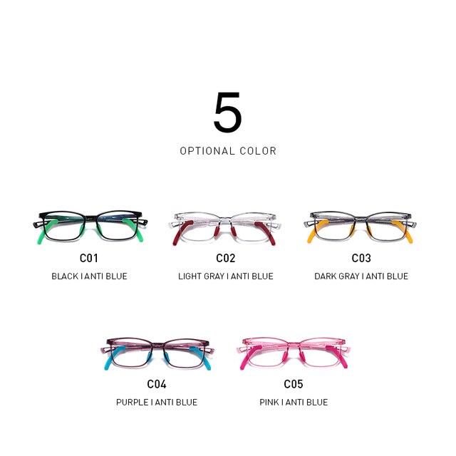 Фото очки с защитой от сисветильник молодежные для подростков квадратные