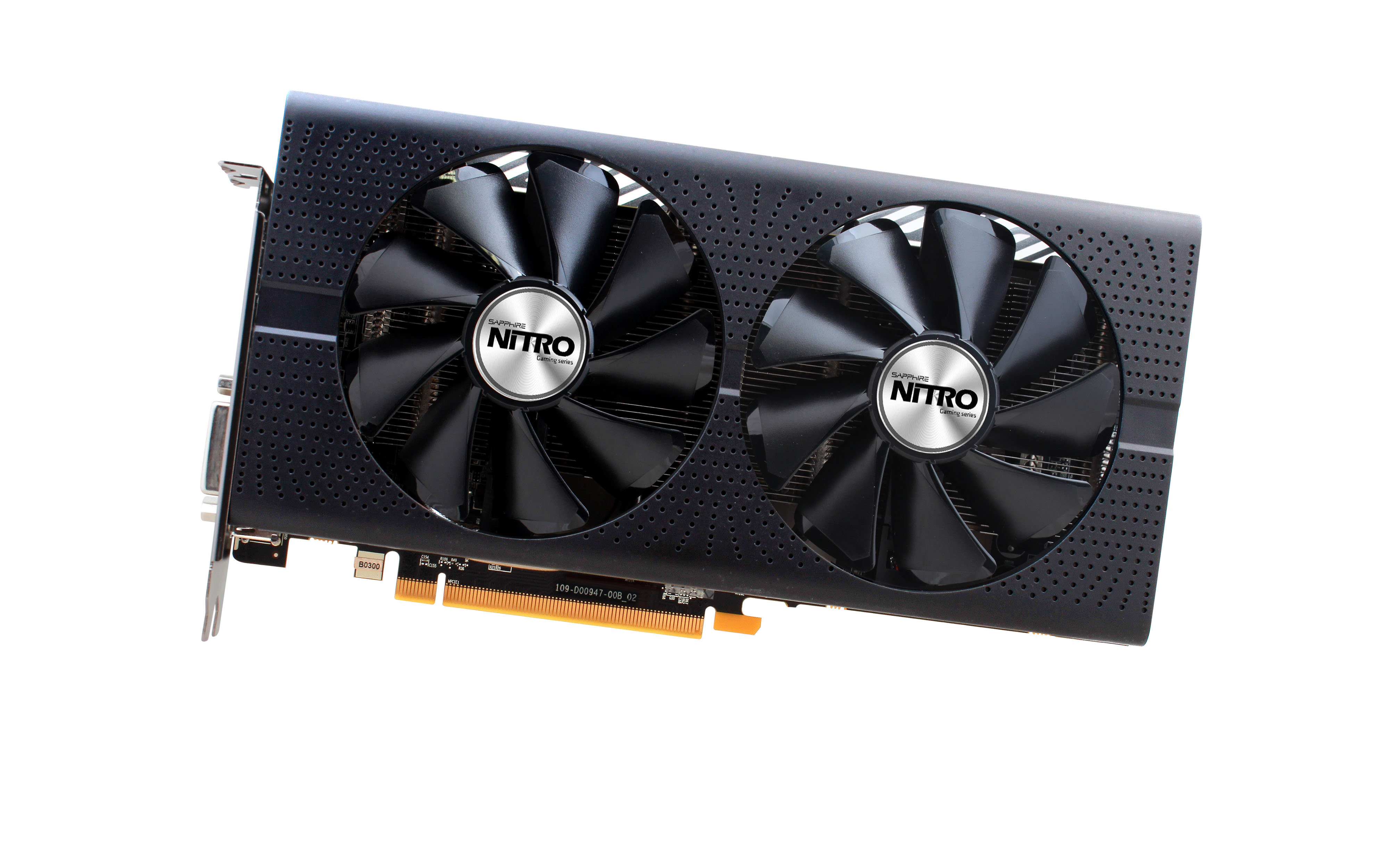 USED,Sapphire RX 570  Nitro 4G Graphics Cards 7000MHz GDDR5 256bits HDMI+DVI+DP*3 PCI-X16