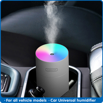 New LED Air Humidifier Ultrasonic Humidifer Diffuser Aromatherapy Aroma Fragrance Car Office desktop - discount item  30% OFF Interior Accessories