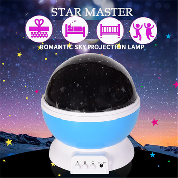 LED Star Master Night Light LED Star Projector Lamp Astro Sky Projection Cosmos led Night Light Lamp Kid's Gift Home Decoration star furniture led