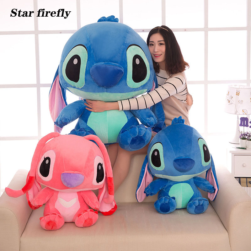 20-80cm Anime Lilo And Stitch Kids Toy Kawaii Stitch Plush Doll Toys Cute Stich Stuffed Toys For Children Kids Birthday Gift
