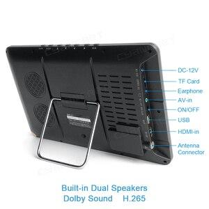 Image 2 - LEADSTAR televisor portátil de 10,8 pulgadas, DVB T2, LED de vista completa, Mini coche pequeño, Digital y TV analógica, compatible con HDMI H.265 AC3