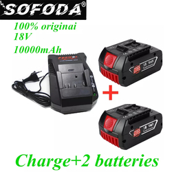 Charger for Bosch Electric Drill, 18V, 10000 mAh, Li-ion Battery BAT609, BAT609G, BAT618, BAT618G, BAT614, 2607336236 charger