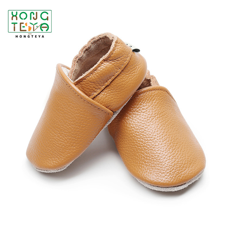 2019 Summer Infant Toddler Shoes Baby Shoes Genuine Leather Baby Moccasins Shoes First Walker Soft Sole Crib Baby Boy Shoes