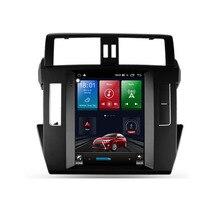 4G LTE Android 10  For TOYOTA prado 2014-2017 Tesla type Multimedia Stereo Car DVD Player Navigation GPS Radio